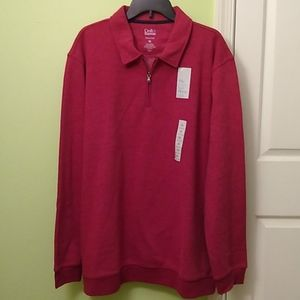 Men's Croft & Borrow 1/4 zip fleece pullover